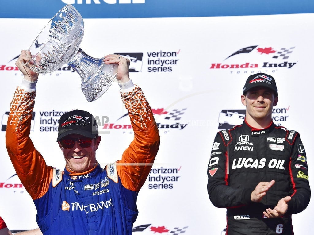 TORONTO | Dixon wins IndyCar race at Toronto for 3rd time