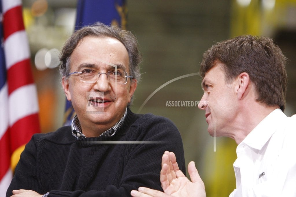 ROME | Jeep exec takes over Fiat, marking end of Marchionne era