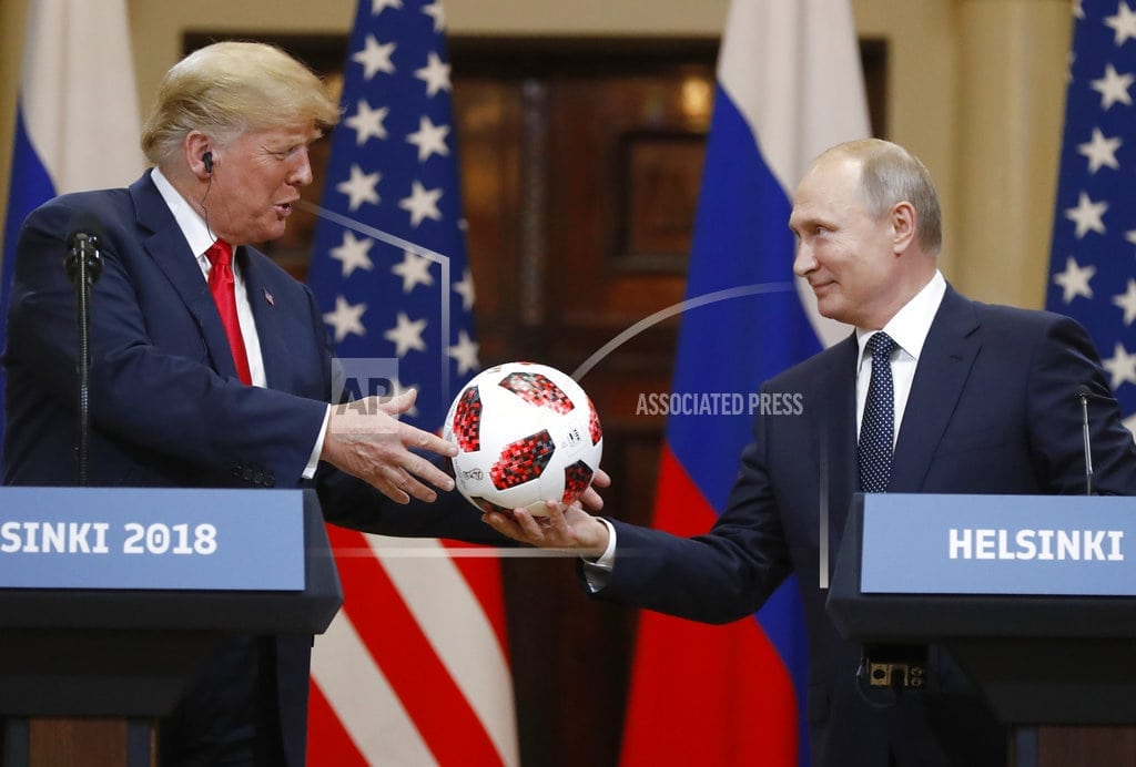 MOSCOW | Russia's post-summit view: Praise for Putin, pity for Trump