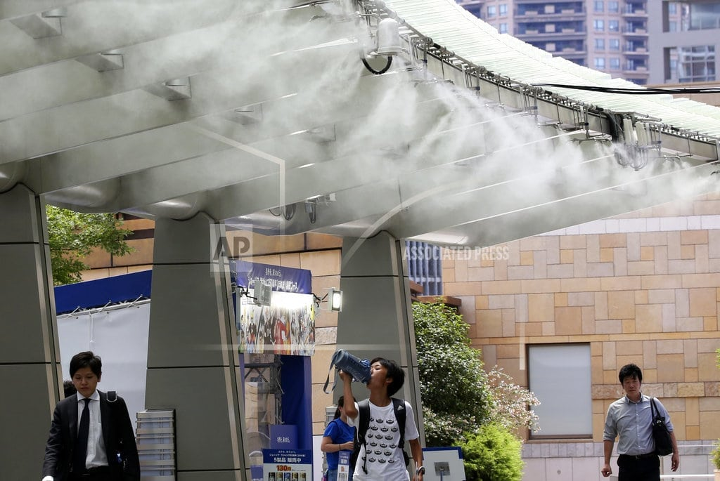 TOKYO  | Record high in Japan as heat wave grips the region