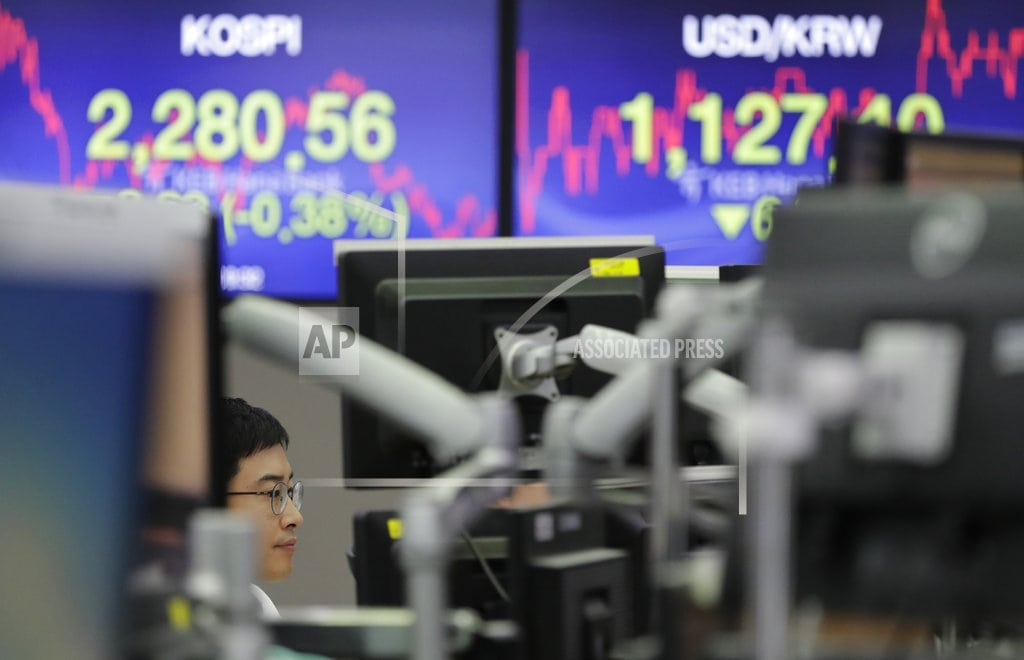 SINGAPORE  | World stocks mixed as G-20 puts trade tensions in focus