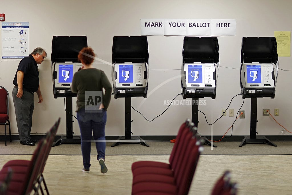 ATLANTA | States move quickly to tap into money for election security