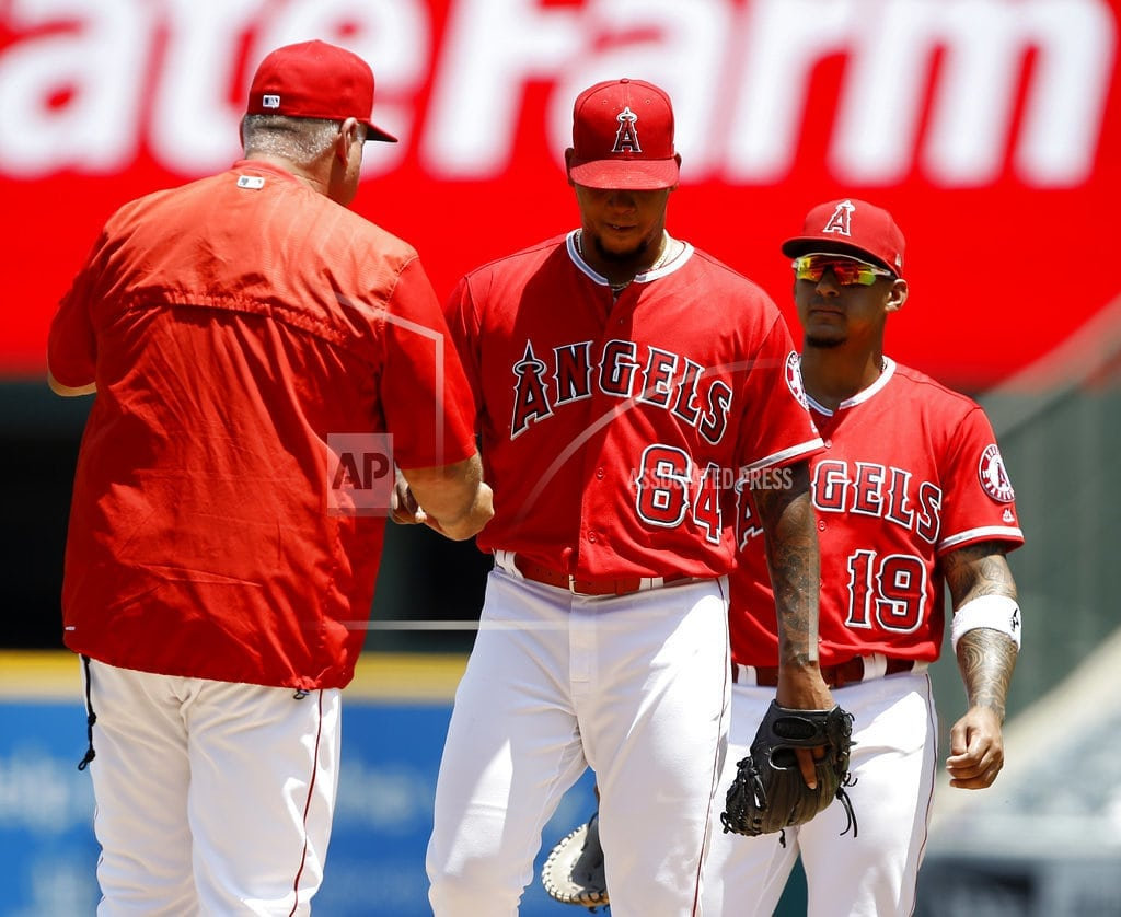 CLEVELAND   Report: Angels manager Scioscia expected to step down