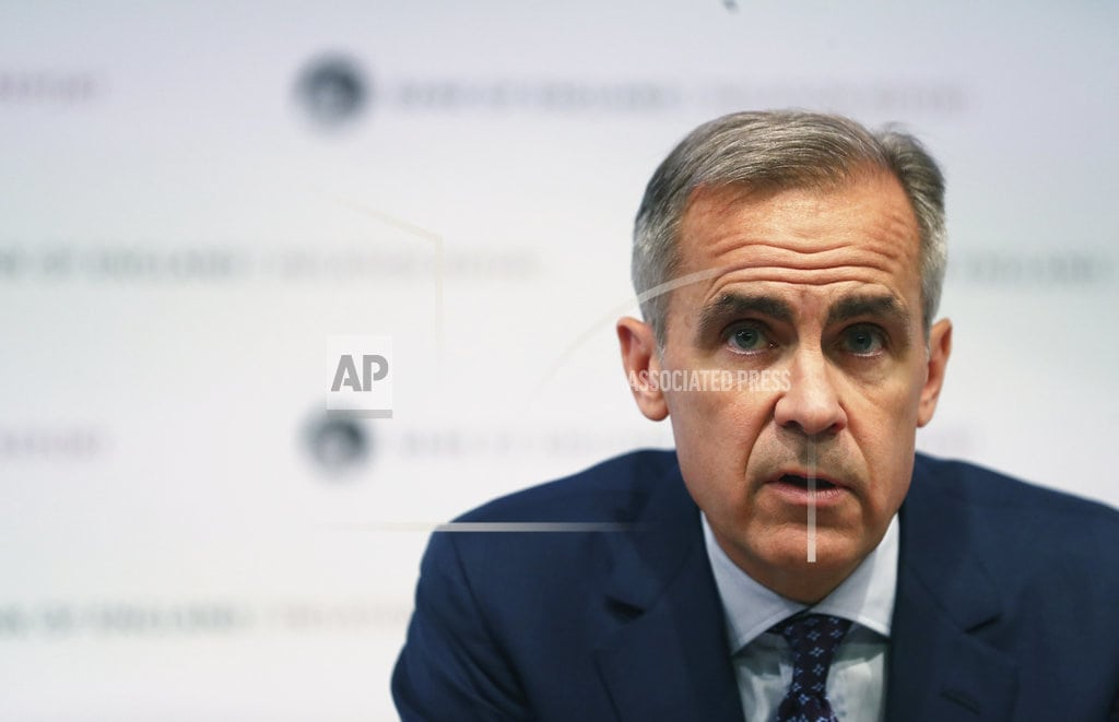 LONDON   UK central bank: no-deal Brexit risk 'uncomfortably high'