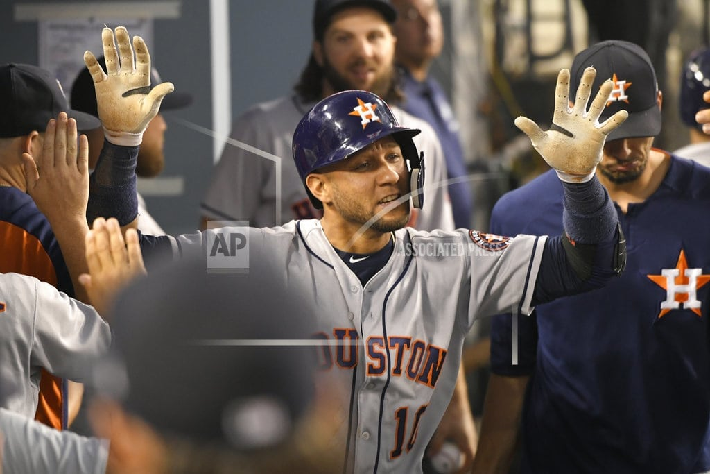 LOS ANGELES   Astros get 13 hits in 14-0 rout of Dodgers; McCullers hurt