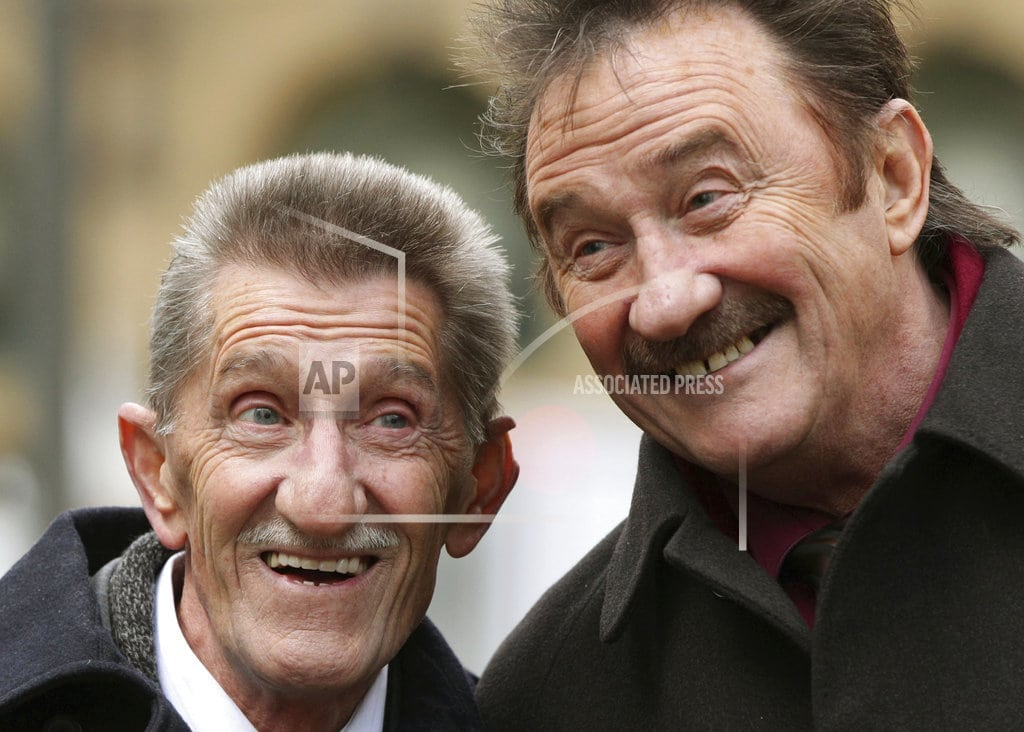 LONDON   Barry Chuckle of UK comedy duo Chuckle Brothers dies at 73