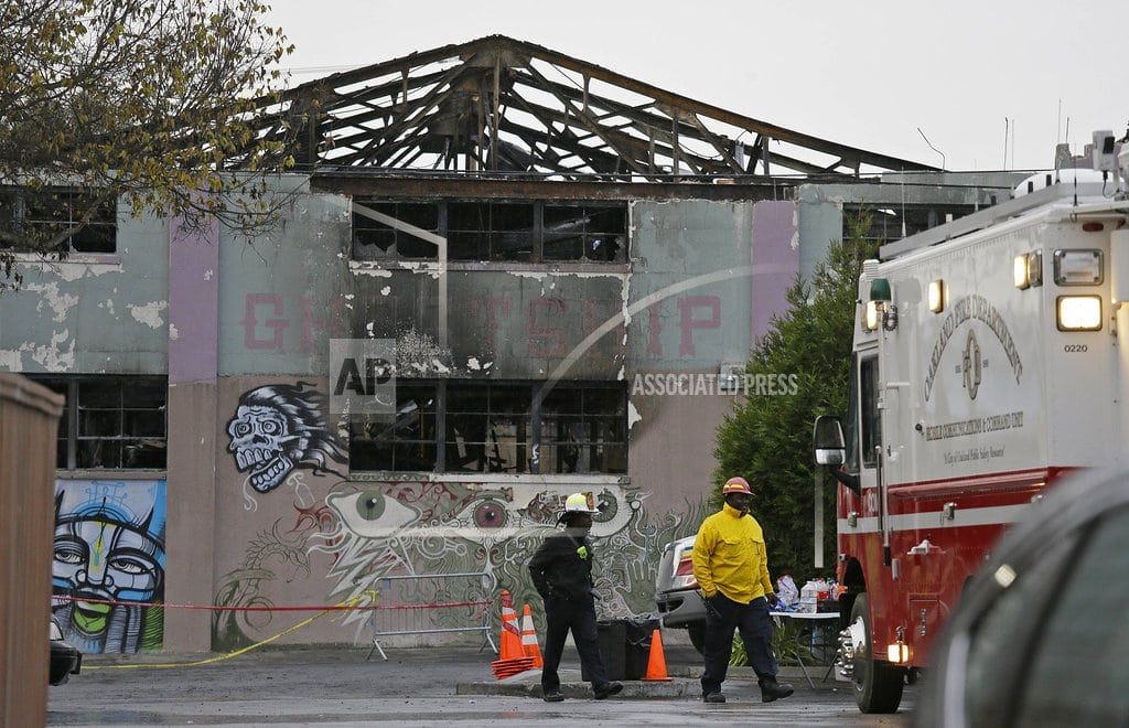 OAKLAND, Calif. | Suspect in fatal warehouse fire says he can't get fair trial