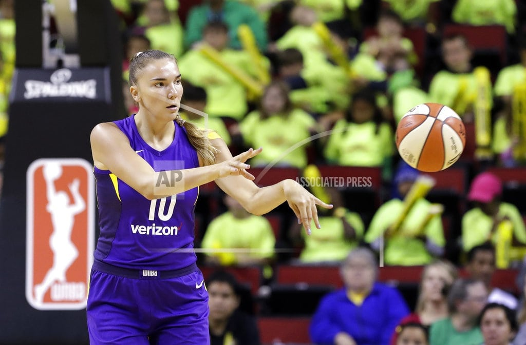 WHITE PLAINS, N.Y.   Russian star Maria Vadeeva enjoying time in WNBA with Sparks