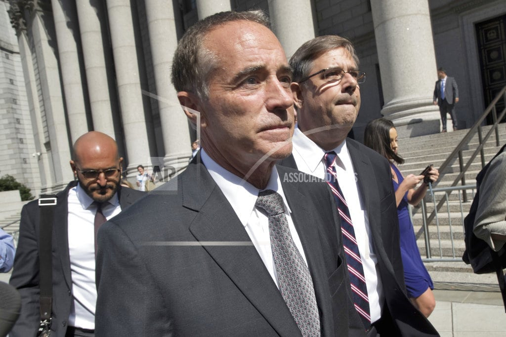 NEW YORK   Facing indictment, GOP Rep. Chris Collins stepping down