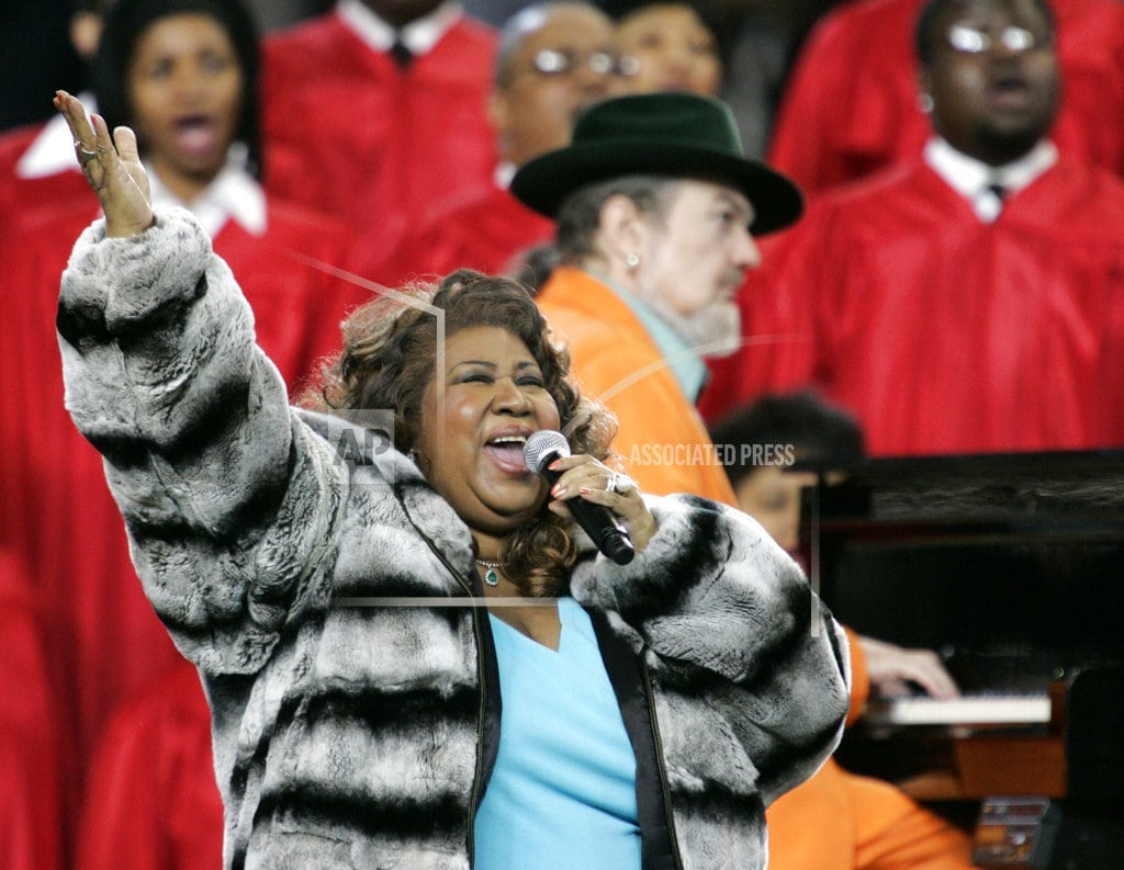 NEW YORK | Aretha Franklin's funeral set for Aug. 31 in Detroit