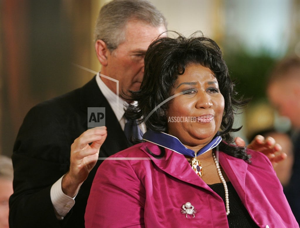 Aretha Franklin came to Washington to sing _ and for history