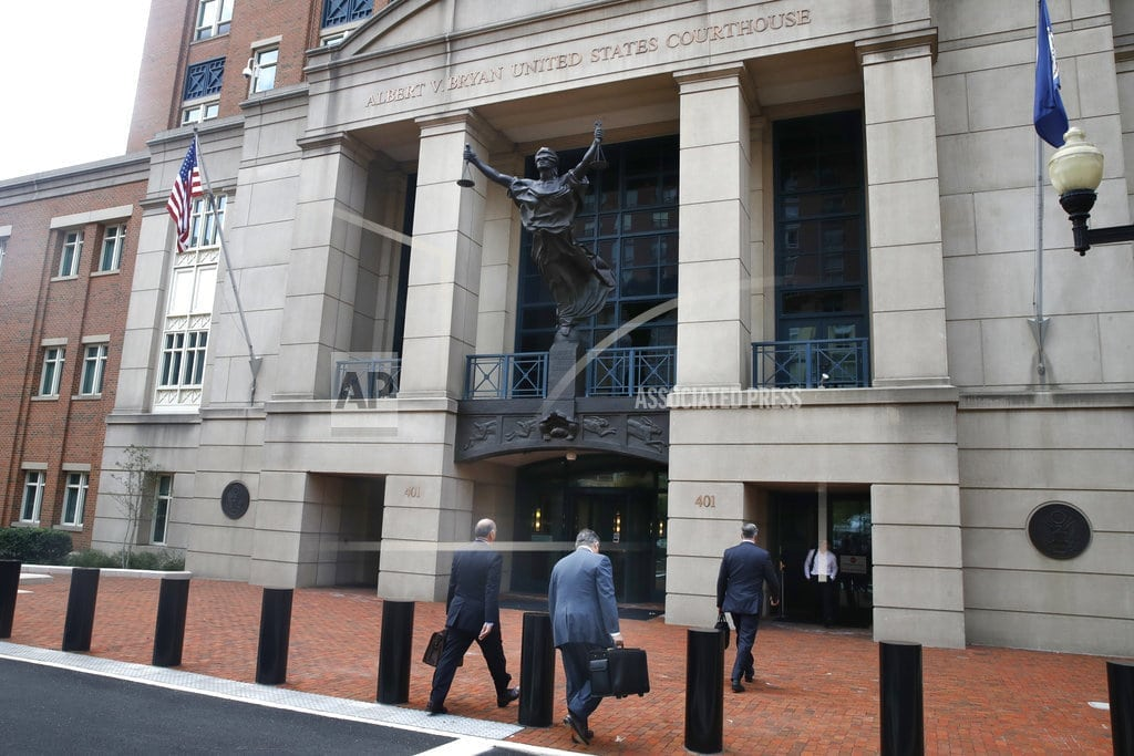 ALEXANDRIA, Va. | Manafort trial turns from prosecution's case to his defense