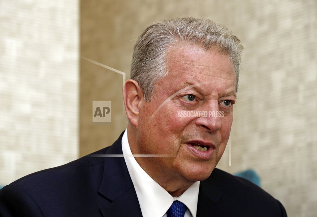 GREENSBORO, N.C. | Gore: Trump not yet as damaging to environment as he feared