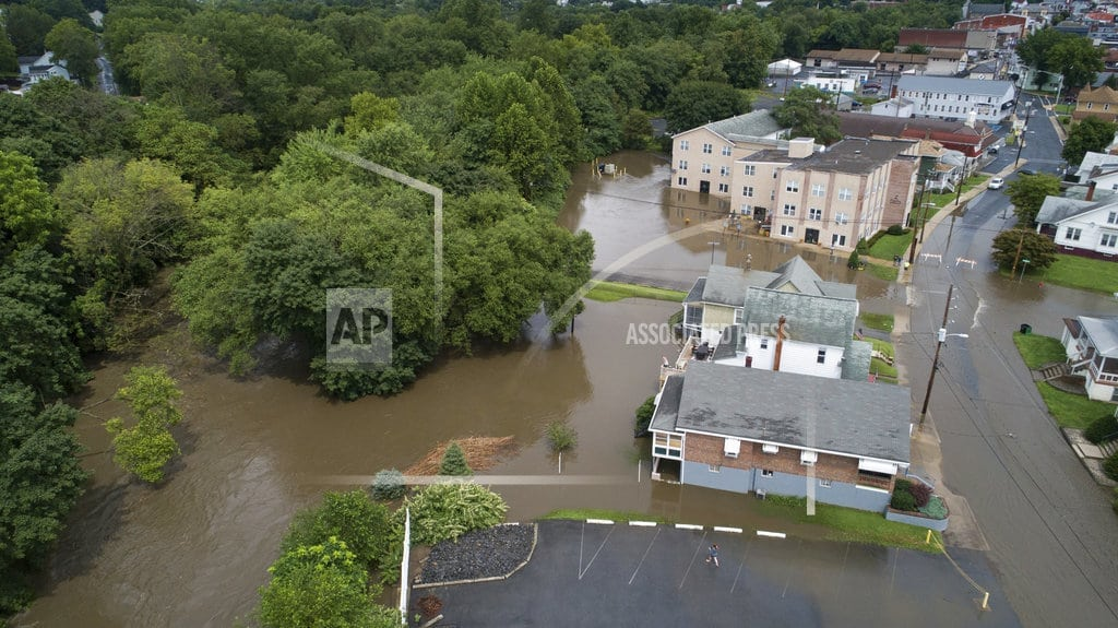 DARBY, Pa. | Drenching rains close roads, prompt rescues in Pennsylvania