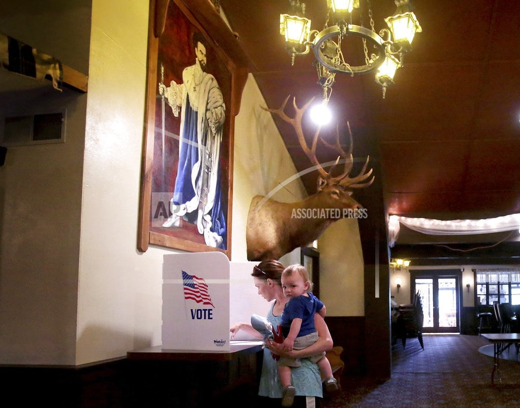 WASHINGTON | The Latest: Polls close in Vermont for slate of primaries