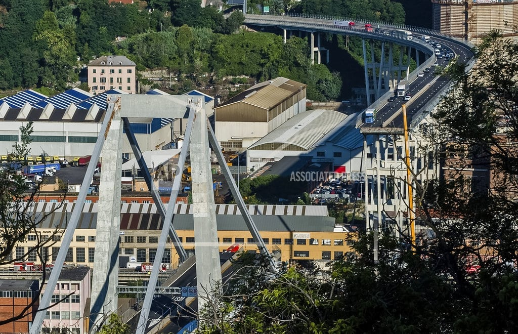 GENOA, Italy | Italy hunts for blame in bridge collapse that killed 39