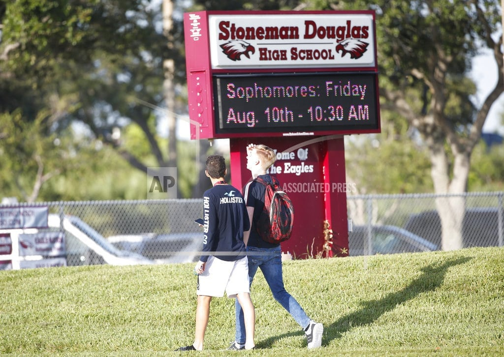 PARKLAND, Fla | Parkland students start school year with tightened security
