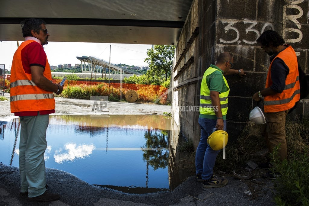 MILAN | Italian disaster puts spotlight on highway management