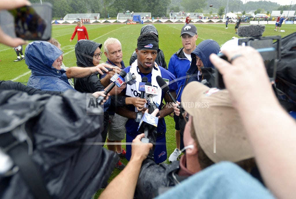 PITTSFORD, N.Y. | Hard Knocks: Bills receiver Coleman can't escape Browns past