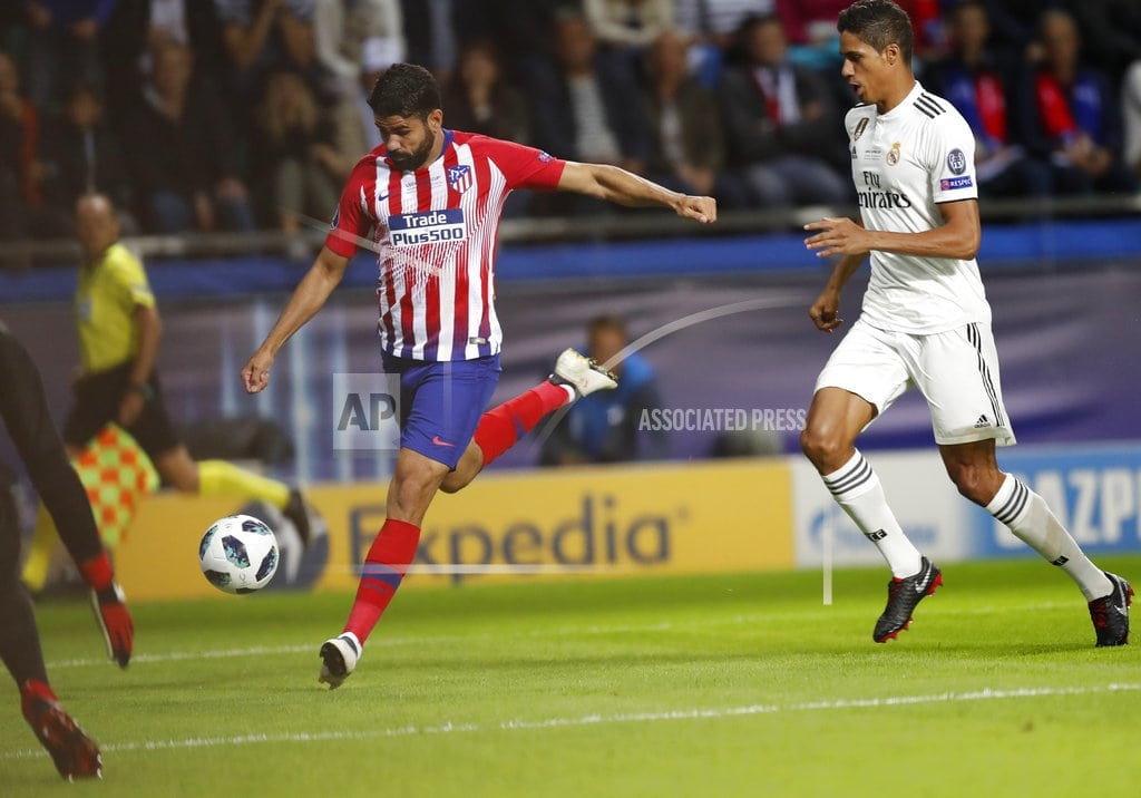 TALLINN, Estonia | Atletico beats Real Madrid 4-2 after extra time in Super Cup