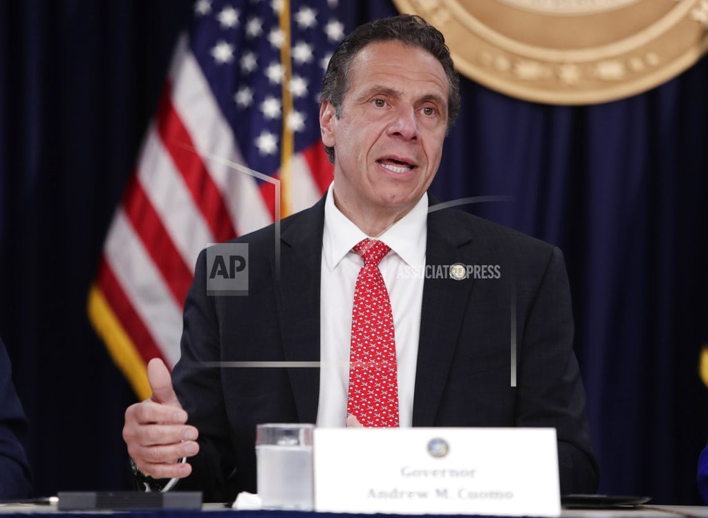 ALBANY, N.Y. | GOP buys Cuomo ticket to Canada after US greatness comment