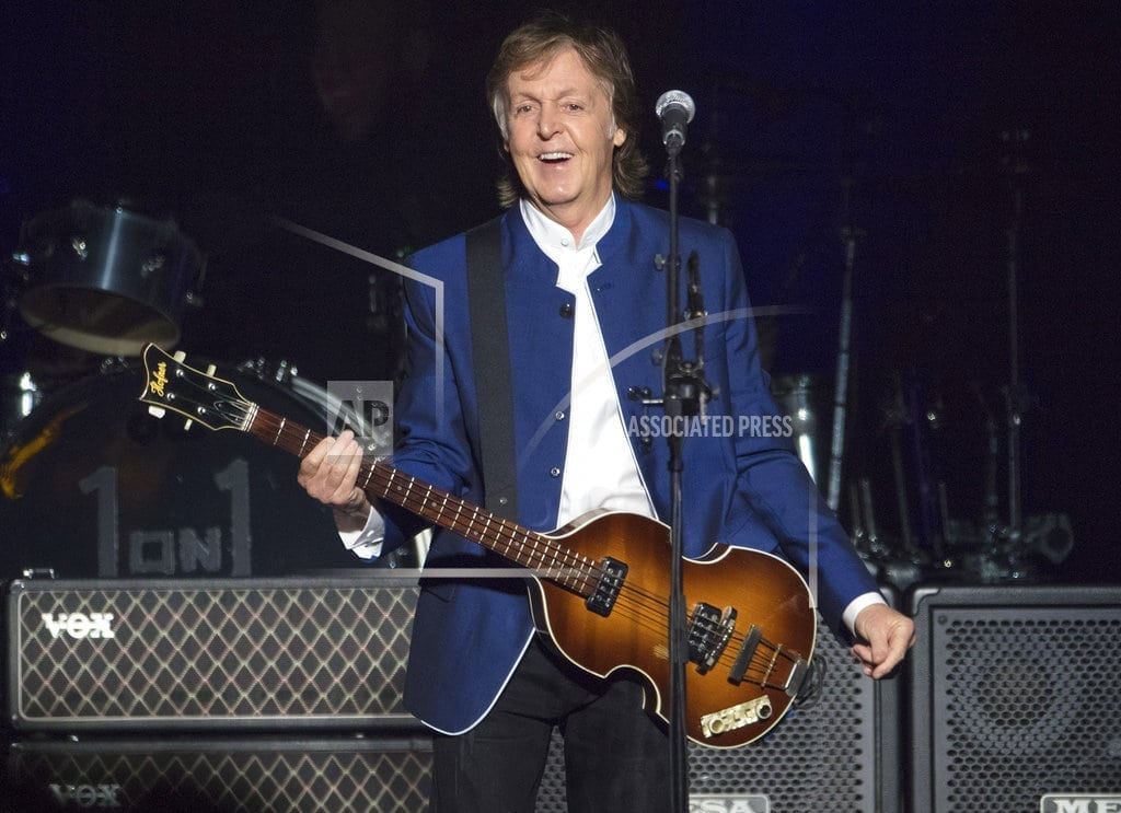 NEW YORK | New McCartney love song takes direct, 'raunchy' approach