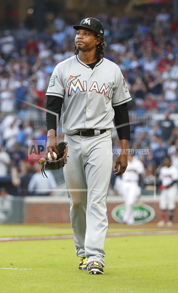 NEW YORK | Marlins' Urena suspended 6 games for hitting Acuna