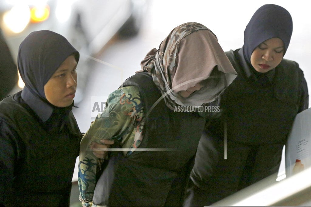 SHAH ALAM, Malaysia | Key ruling due for women on trial in Kim Jong Nam killing