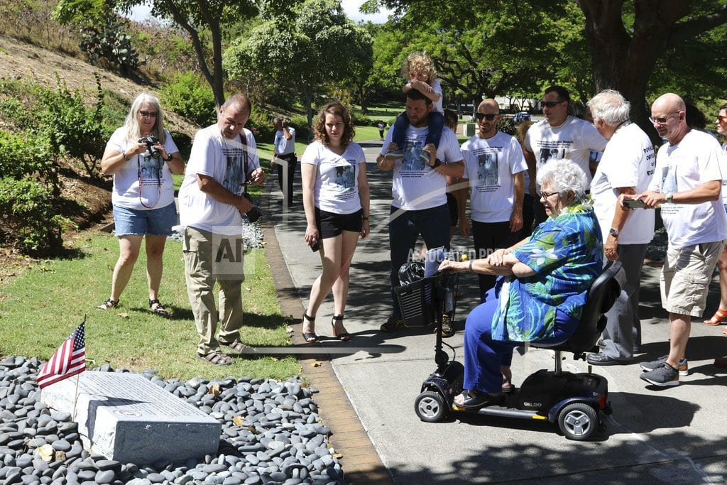 HONOLULU | WWII POWs buried as unknowns in Hawaii get memorial marker