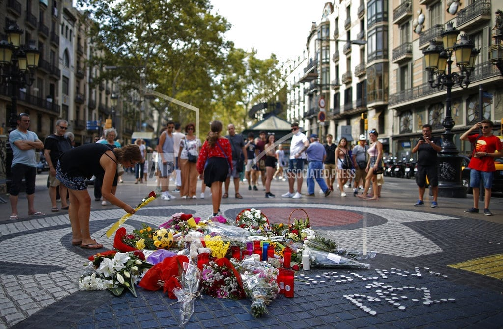 BARCELONA, Spain | Spain remembers terror attacks that killed 16 in Catalonia