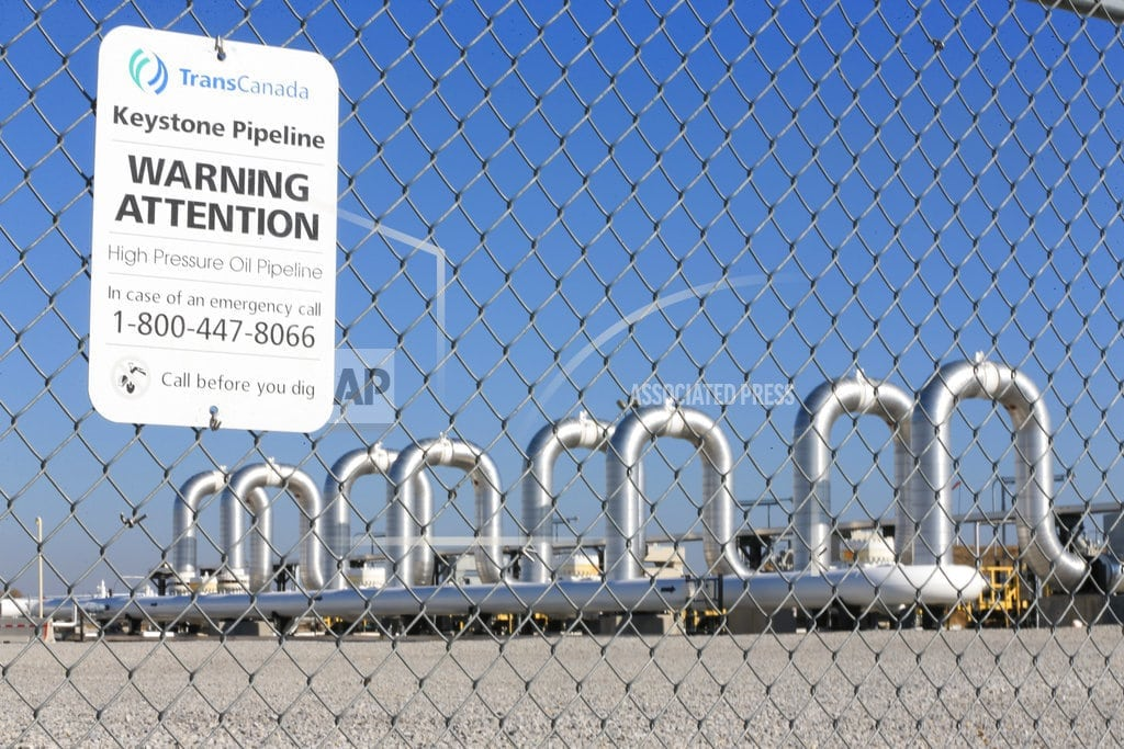 LINCOLN, Neb. | Judge orders new federal review of Keystone XL pipeline