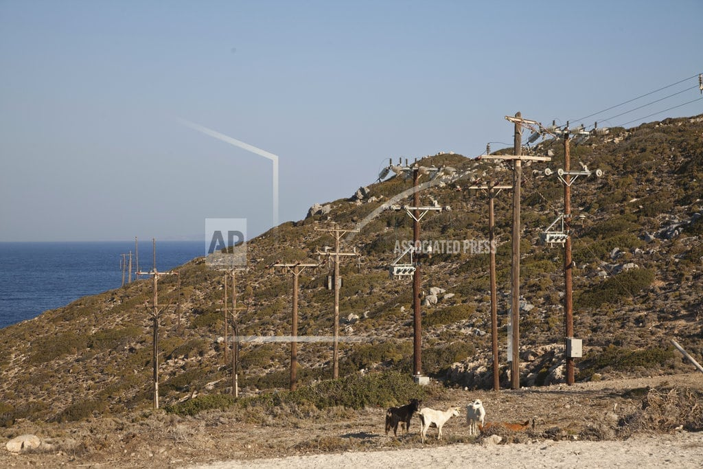 TILOS, Greece | Renewable resort: Greek island to run on wind, solar power