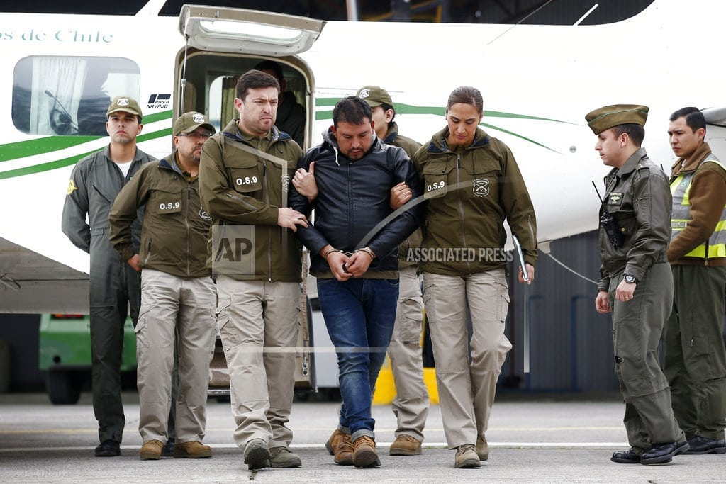 SANTIAGO, Chile | Chile: Man angry over suitcase behind wave of bomb threats
