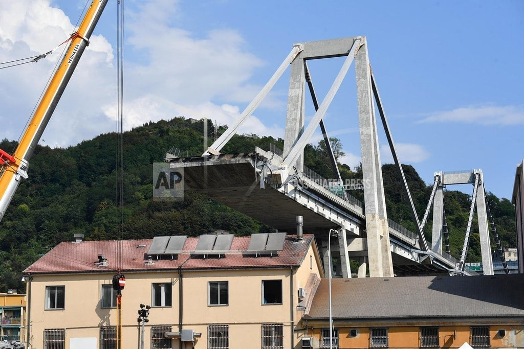 GENOA, Italy   Toll rises to 42 in Italy bridge collapse ahead of funerals