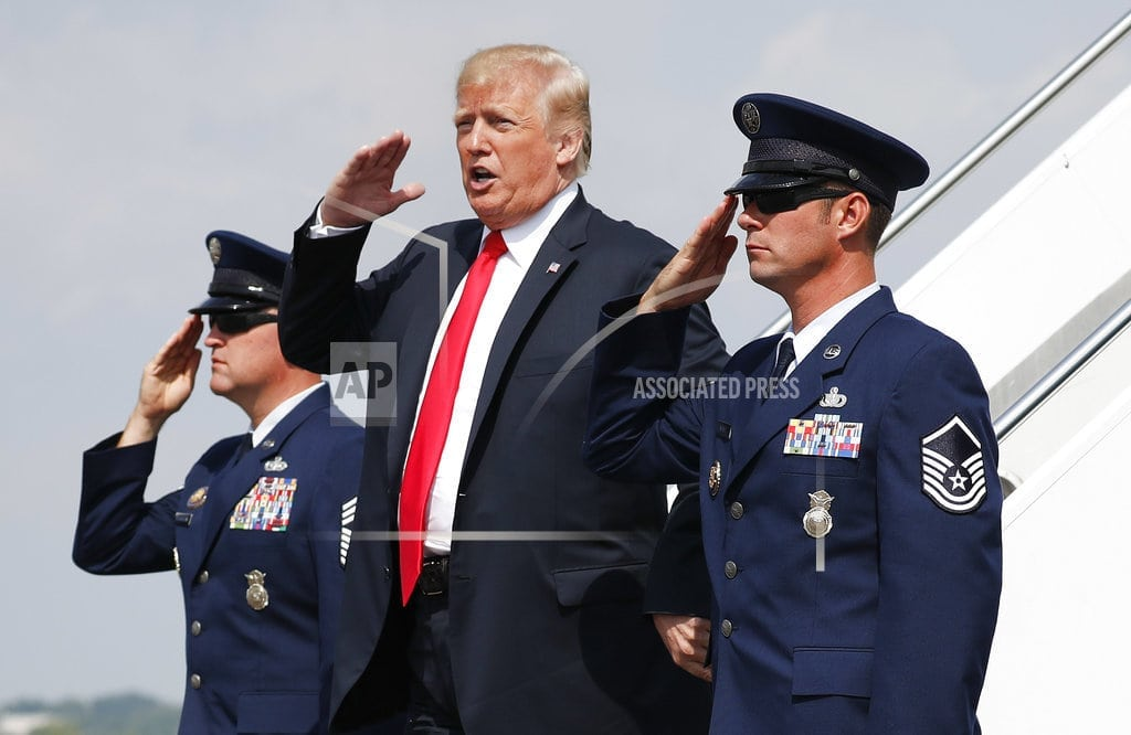 WASHINGTON| Trump blames DC, as military parade plans unravel over costs
