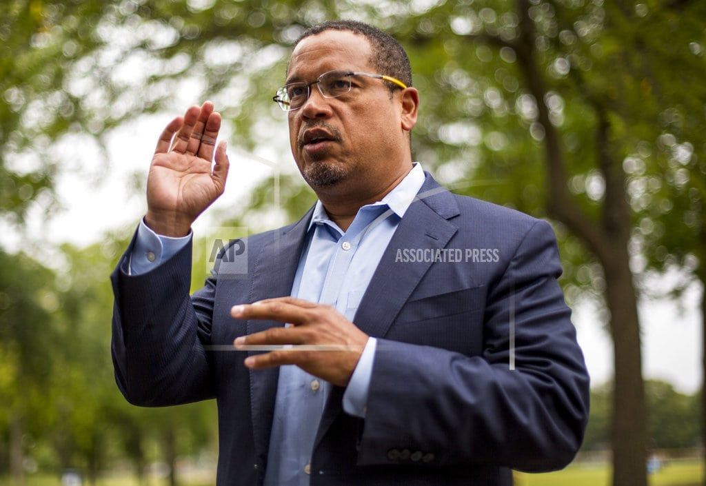 MINNEAPOLIS | Minnesota Democrats endorse Ellison amid abuse allegation