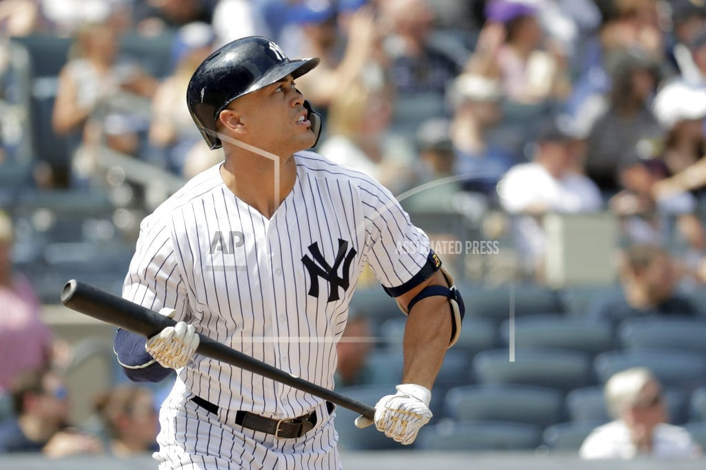 NEW YORK | Stanton homers as Yankees beat Blue Jays 11-6