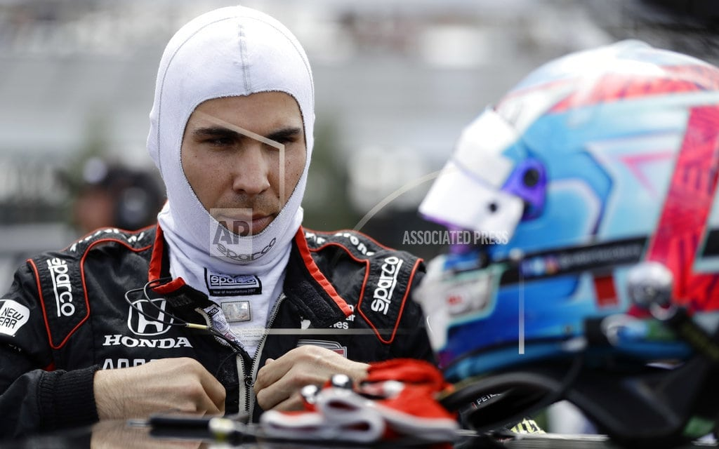 LONG POND, Pa   The Latest: Wickens spins into fence in wreck at Pocono