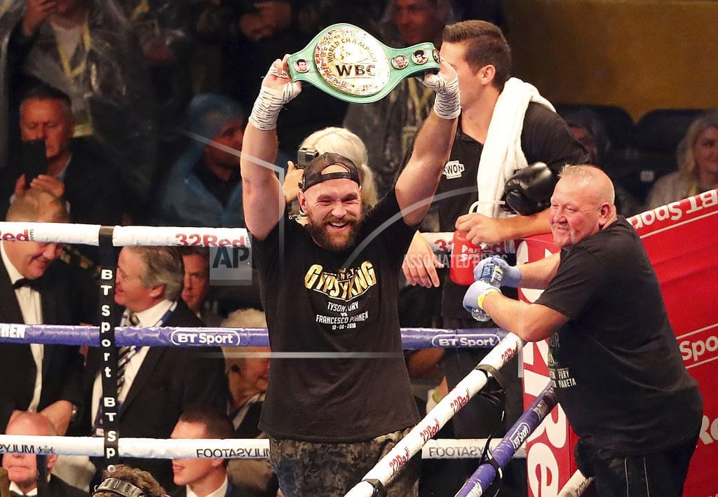 BELFAST, Northern Ireland | Fury sets up Wilder fight after winning 2nd comeback bout