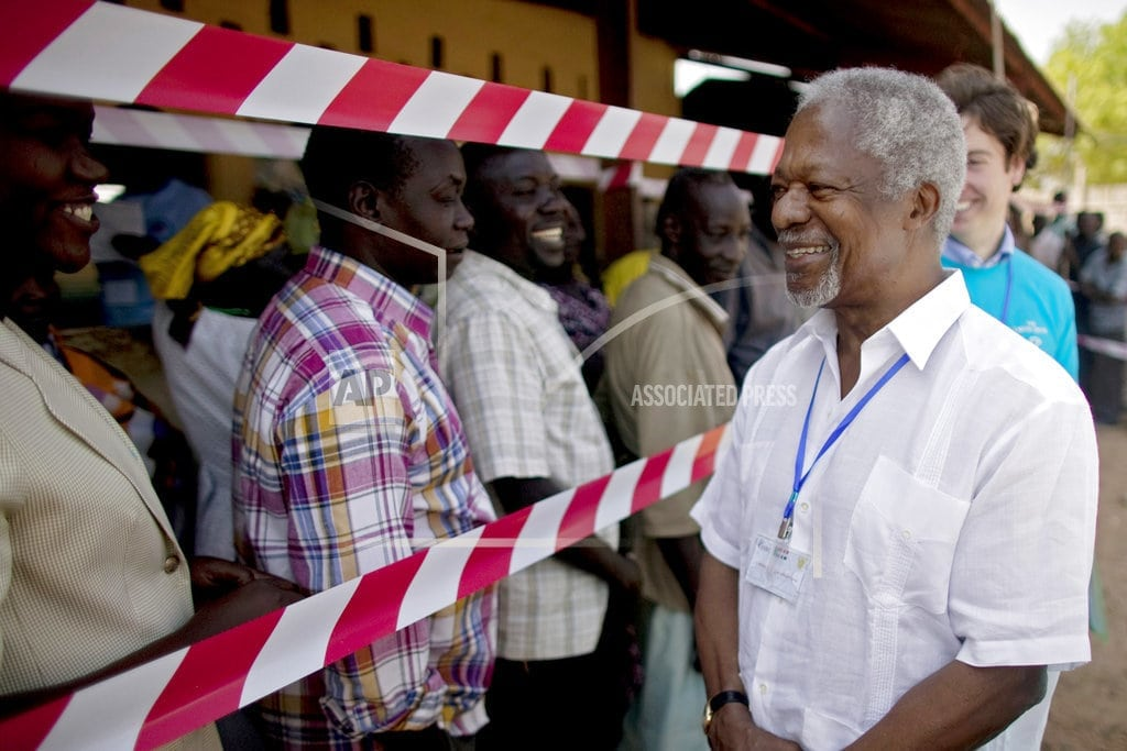 UNITED NATIONS | Annan leaves legacy of fighting for equality and rights