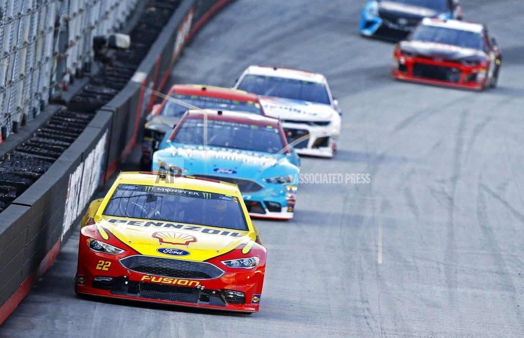 BRISTOL, Tenn. | The Latest: Logano wins second stage at Bristol