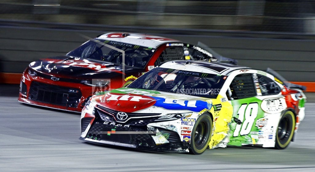 BRISTOL, Tenn. | Kyle Busch not his usual dominant self at Bristol this time
