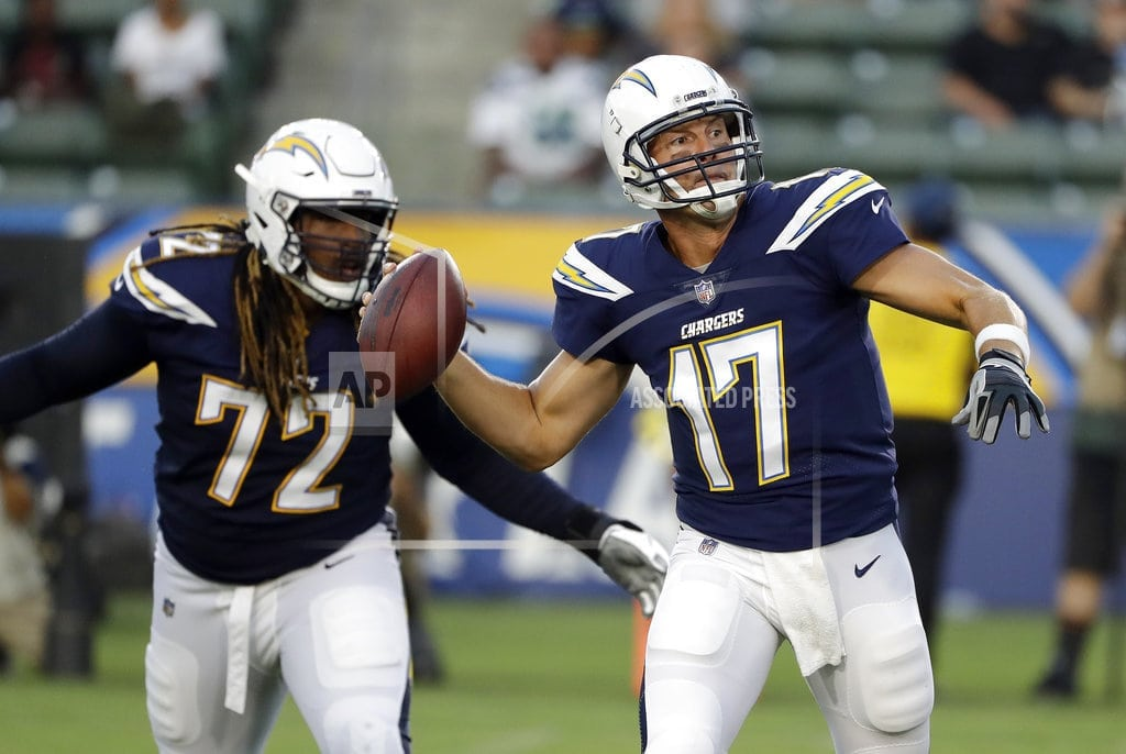 CARSON, Calif. | Rivers, Chargers look sharp early in 24-14 win over Seahawks
