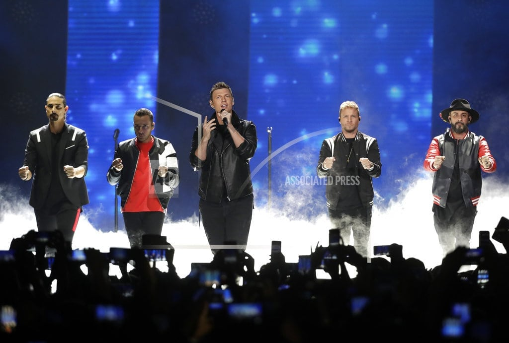 THACKERVILLE, Okla   Backstreet Boys fans treated for injuries after storm