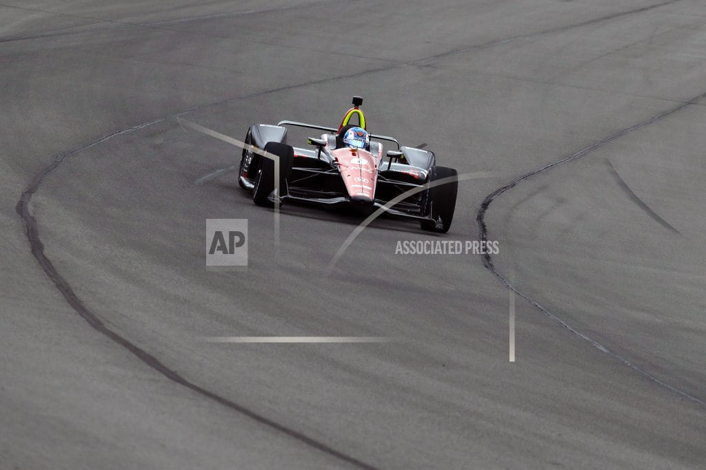 ALLENTOWN, Pa | IndyCar driver Wickens has rods, screws placed into spine