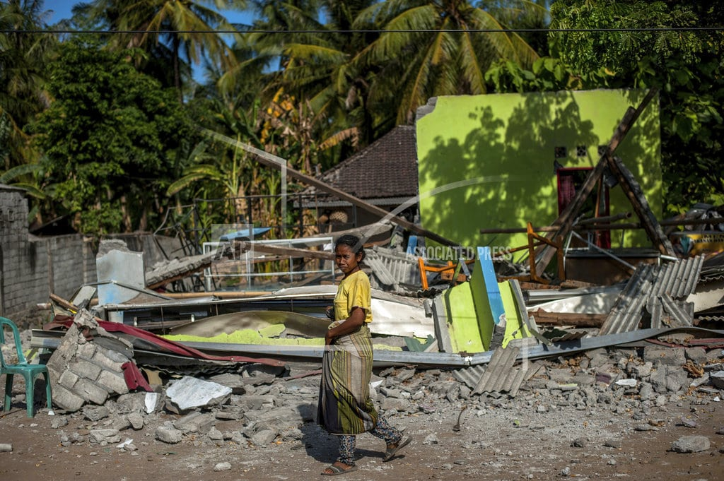JAKARTA, Indonesia | Indonesia: Lombok quakes don't meet national disaster status
