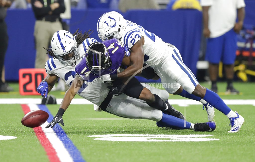 INDIANAPOLIS | Ravens crash Luck's homecoming with 20-19 preseason win