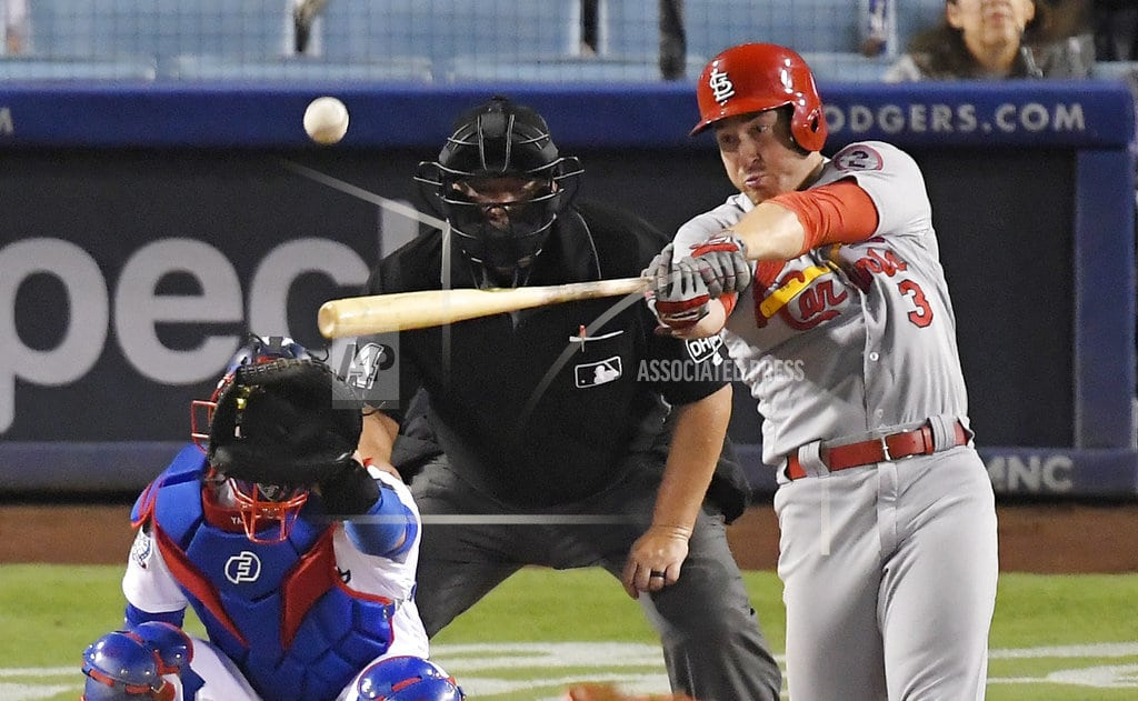 LOS ANGELES | Jansen gives up 2 HRs in return, Cards top Dodgers 5-3