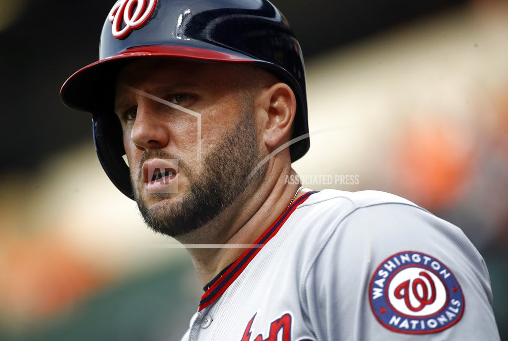 WASHINGTON | Disappointing Nats trade Murphy to Cubs, Adams to Cards