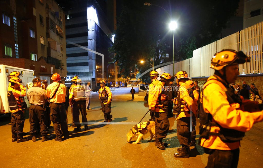 CARACAS, Venezuela | Strong quake rocks Venezuela but little damage reported
